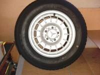 Mercedes 5 light alloy wheels