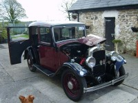 Austin Ten 1933 ex South Africa