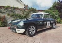 MGB Lightweight race car